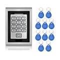 RFID Waterproof Metal Control Locks With WG26/WG34 Input/Output Digital Door Locks For Door Access Control System+10 keys-K82