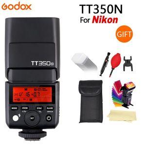 Image 2 - Godox Mini Speedlite TT350C TT350N TT350S TT350F TT350O kamera flaş TTL HSS GN36 Canon Nikon Sony için Fuji Olympus DSLR kamera