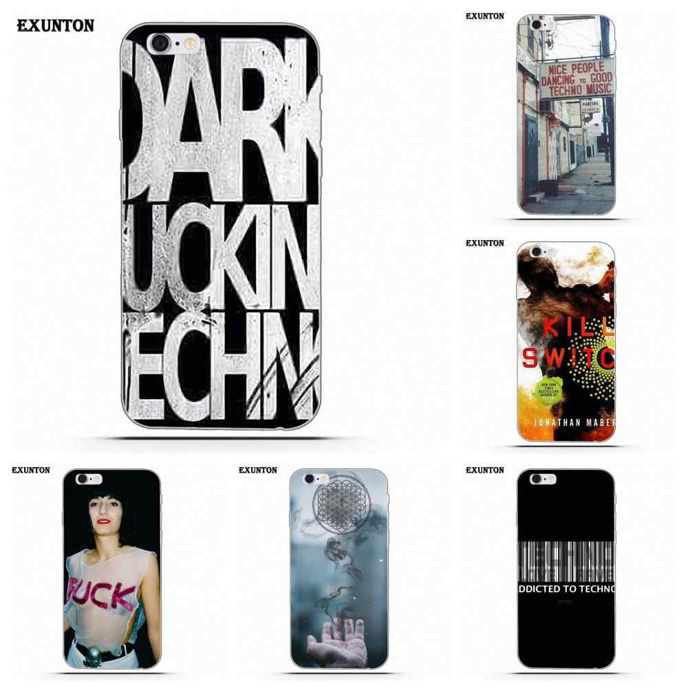 For Apple iPhone 4 4S 5 5C SE 6 6S 7 8 Plus X For Apple iPhone 4 4S 5 5C SE 6 6S 7 8 Plus X Soft TPU Covers Case I Love Techno