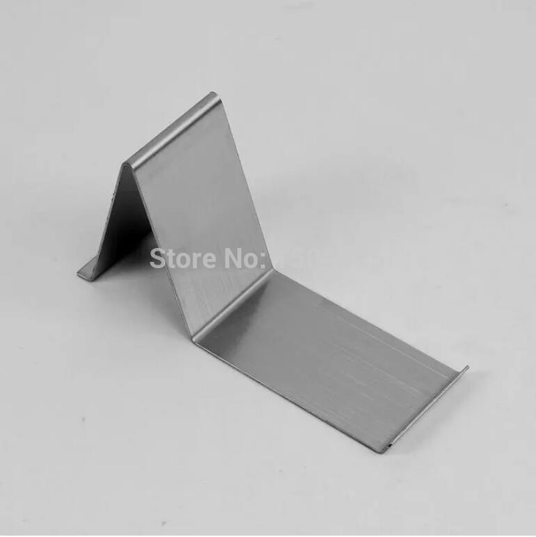 A-shaped Silver Metal Shoe Display Stand Shoe Holder Rack 10pcs metal ring holder for smartphones silver