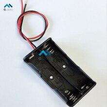 5 шт. 2XAA Держатель Батареи 3 В Пластиковая Коробка Батарея Дело Разъем с Кабелем-Жильный кабель 2 Х АА