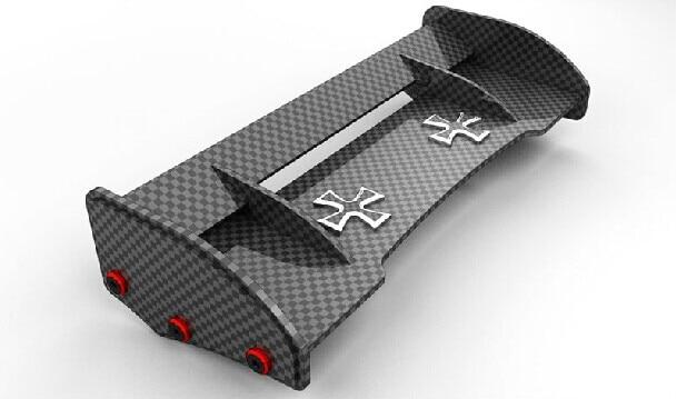 baja rear wing carbon matier