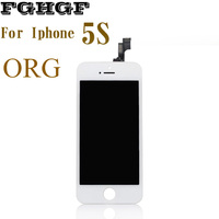 ORG FGHGF Mobile Phone LCD Screen 2PCS Lot For Iphone 5S Display With Touch Replacement Repair