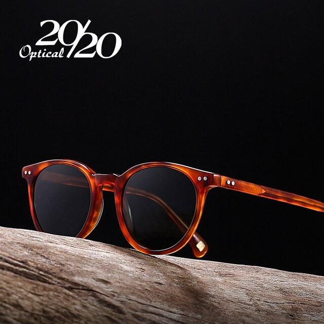 cee69becde0c98 20 20 Brand New Unisex Gepolariseerde Zonnebril Mannen Vrouwen Acetaat  Zonnebril Retro Brillen Rijden Oculos