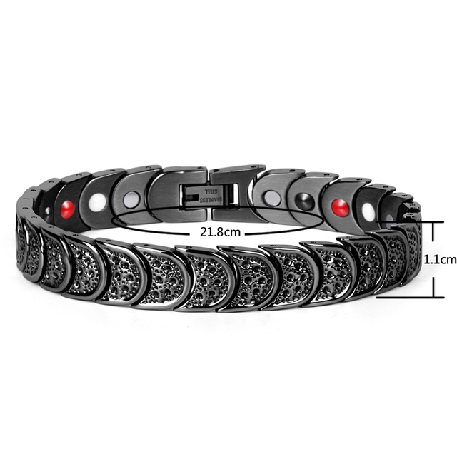 4 Elements Balance Therapy Magnetic Power Health Bracelet