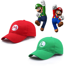 Super Mario Odyssey Cosplay Hat Luigi Bros Baseball Caps Anime Accessories Women Men Halloween Gifts Cap Wholesale