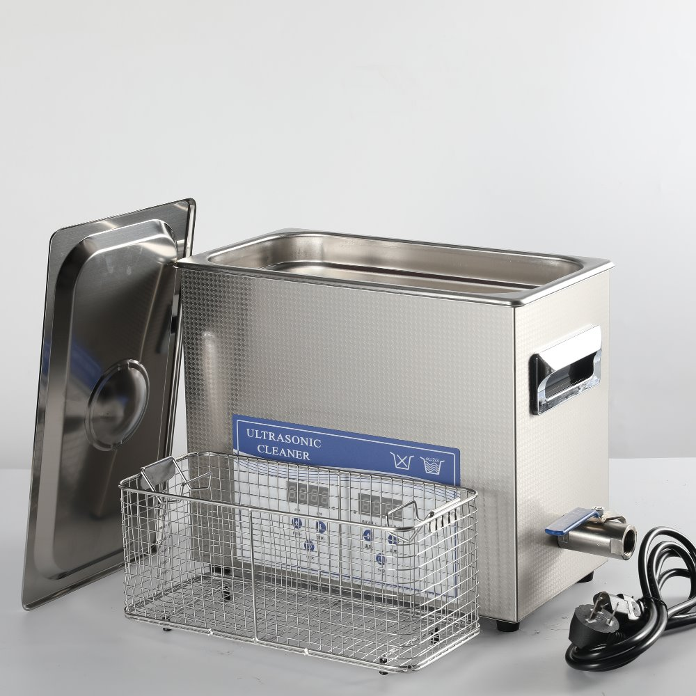 6L Ultrasonic Cleaner with Heating Timer to Remove Oil Rust