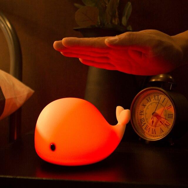 Whale Design LED Night Light 3