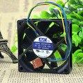 DA07020T12U 7020 12V line four speed single ball CPU cooling fan for taiwan avc 70X70X20MM