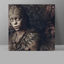 Senua Wall Pictures Hellblade Canvas Video Game Painting Corridor Hanging Print HD