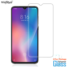 2Pcs For Glass Xiaomi Mi 9 Screen Protector Tempered Glass For Xiaomi Mi 9 Glass Protective Phone Film For Xiaomi Mi9 for xiaomi mix 2 2s screen protector for xiaomi 9 9se tempered glass 3x stronger 3d full coverage for xiaomi mi9 protector film