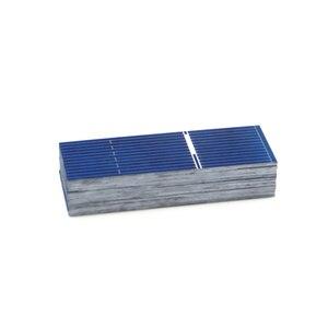 Image 4 - 50 шт./лот x поликристаллические силиконовые панели солнечных батарей Painel DIY зарядное устройство Sunpower Солнечный борд 52*19 мм 0,5 В 0,16 Вт