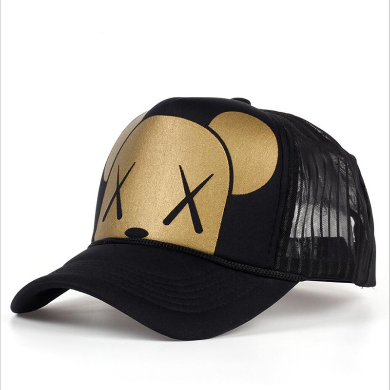 4f026ebcc8e04 Fashion Summer Baseball Sports Hip Hop Net Cap Trucker Hats For Men And  Women Snapback Mesh Sun Hat
