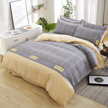 Klonca luxury bedding set cotton sheet autumn bed set countriside comforter bedding set