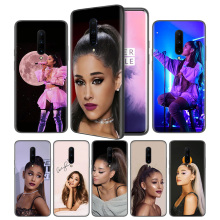 Ariana Grande Soft Black Silicone Case Cover for OnePlus 6 6T 7 Pro 5G Ultra-thin TPU Phone Back Protective