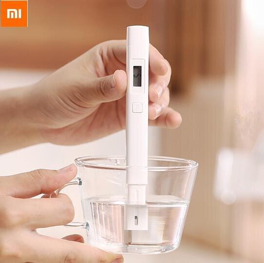 Original Xiaomi mi Jia mi medidor de TDS Tester portátil de detección de la pureza del agua de prueba de calidad CE TDS-3 de