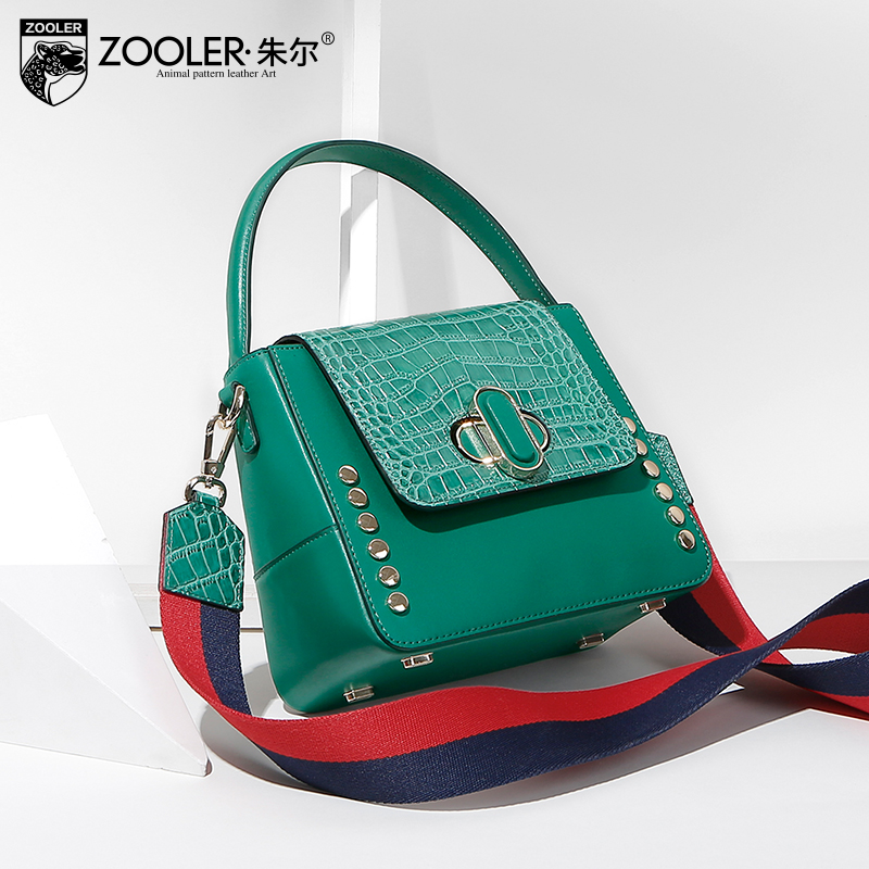 NEW &just in stock 2018 hot ZOOLER Genuine leather bag luxury women leather handbags women bags designer bolsa feminina  #A111 sales zooler brand genuine leather bag shoulder bags handbag luxury top women bag trapeze 2018 new bolsa feminina b115