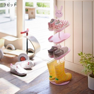 BF040 Home Furniture Cute Shoe Rack Kid Children Cartoon Animal Design Shoe  Rack Holder Stand Storage Capacity 67cm In Shoe Racks U0026 Organizers From  Home ...