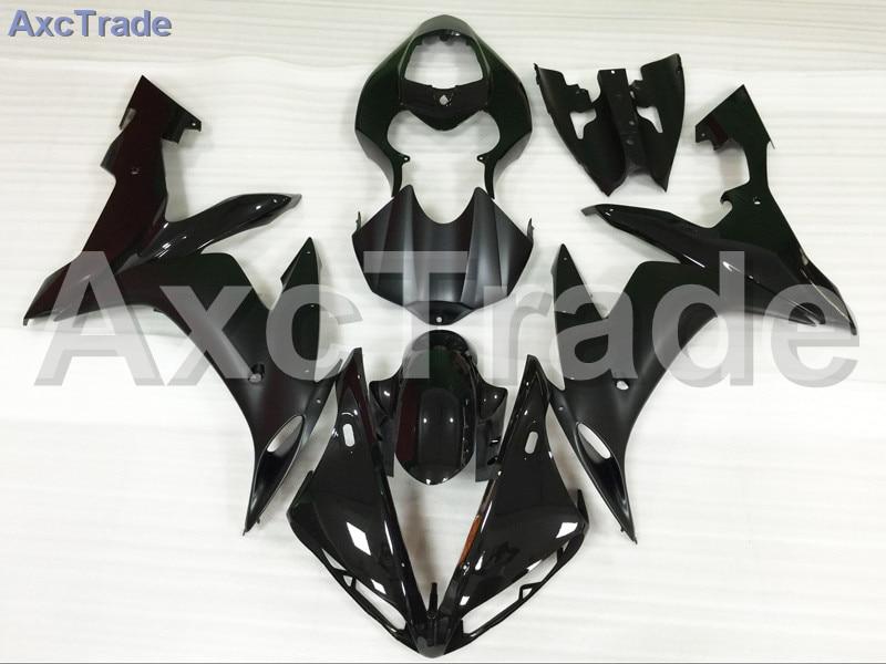 Motorcycle Fairings Kits For Yamaha YZF-R1000 YZF-R1 YZF 1000 R1 2004 2005 2006 ABS Injection Fairing Bodywork Kit Black A837 wotefusi black motorcycle injection mold bodywork motorcycle fairing for 2004 2005 2006 yamaha yzf1000 r1 04 05 06 3 [ck813]