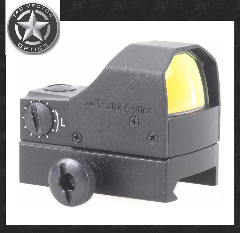 Vector Optics Fury 1x Compact Mini Reflex Red Dot Sight 0.5m Water Shock Resistance with Weaver Base fit 12GA Shotgun .223 .308 uwinka mc u6c multi in 1 water resistance shockproof memory card storage box red