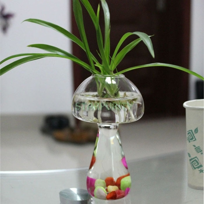 Clear Gl Stand Mushroom Plant Flower Vase Hydroponic Container ... on plants for flowers, flasks for flowers, flowers for flowers, teapots for flowers, trees for flowers, benches for flowers, pottery for flowers, cards for flowers, jars for flowers, lanterns for flowers, jugs for flowers, signs for flowers, beads for flowers, care tags for flowers, pots for flowers, planters for flowers, baskets for flowers, footed bowls for flowers, tall vase wedding flowers, fans for flowers,