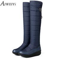 High Quality Women S Boots 2017 New Non Slip Waterproof Platform Snow Boots Knee High Boots
