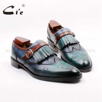 cie Round Toe Full Brogues Cut-Outs Tassels Buckles Loafer 100%Genuine Calf Leather BreathableOutsole Man's Flats Shoe Loafer169 - DISCOUNT ITEM  0% OFF All Category