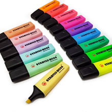 Stabilo Highlighter Boss Pens-Original 6-Pastel-Colors New Pack of