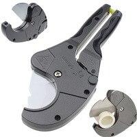 PVC PE Pipe Cutter Cơ Thể Hợp Kim Nhôm Ống Cao Su Ống Dẫn Kìm Mayitr Poly Ống Tubing Ratchet Máy Cắt Với Mài Blade