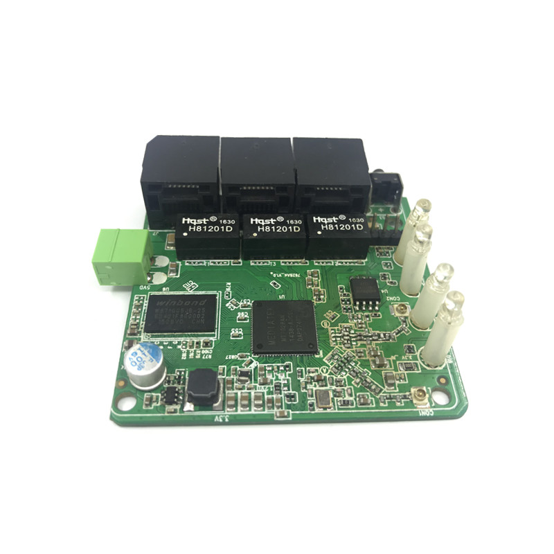 Image 4 - 3 port 10/100Mbps wireless Ethernet router module Module Design Ethernet Router Module for Ethernet PCBA Board OEM Motherboard-in Modem-Router Combos from Computer & Office