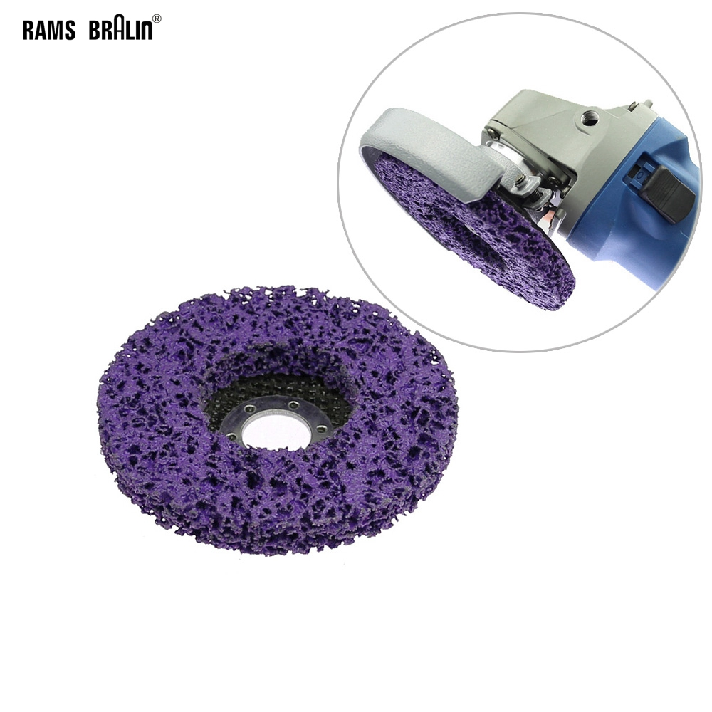 """Poly Strip Wheel Paint Rust Removal Clean Quality Angle Grinder Disc 125mm 5/"""""""
