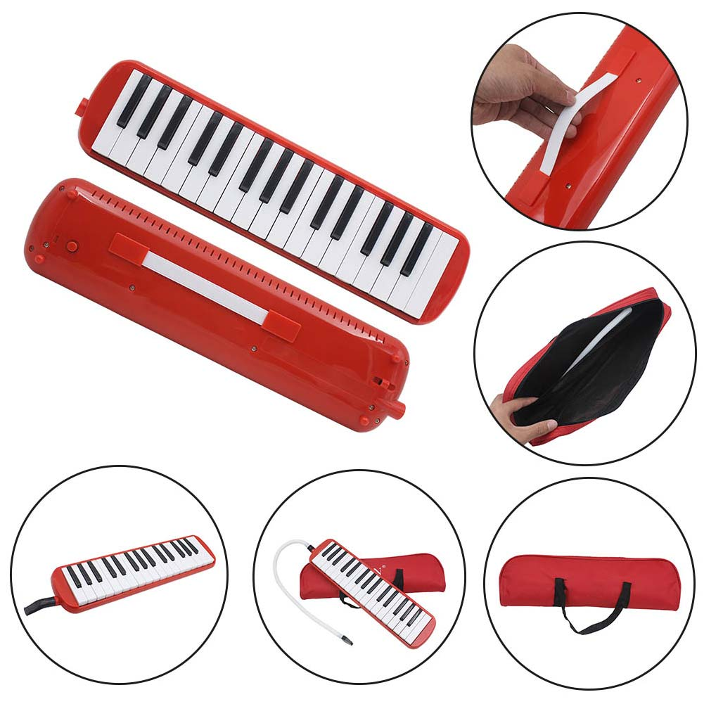 32 Piano Keys Melodica Musical Instrument For Music Lovers Beginners Gift With Carrying Bag SMN88