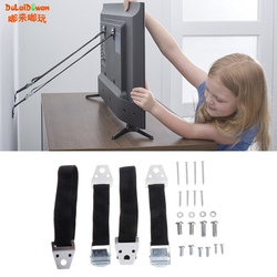 2 шт./лот, многофункциональный ремень безопасности для детей, детские ремни безопасности, анти-наконечники для плоского телевизора, мебель, ...