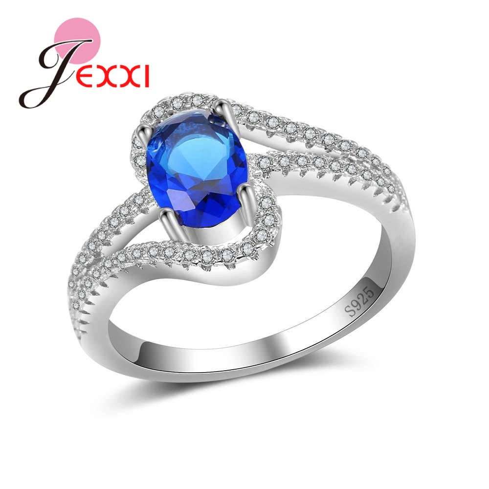 Wedding Gift For Friend Female: JEXXI Beautiful Wedding Rings Gifts For Best Friend Real