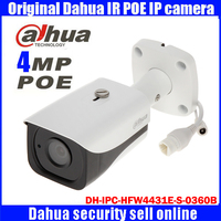 IPC HFW4431E S 0360B Dahua Original 4MP HD Network Camera Night Vision Infrared 40 Meters Security