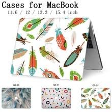 Fasion Para MacBook Notebook Laptop Sleeve Case Capa Para MacBook Air Pro Retina Quente 11 12 13 15 13.3 15.4 sacos Tablet Torba Polegada