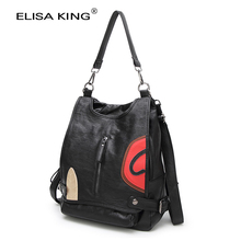 School Bags For Teenage Girls Women's Backpacks Fashion Female Genuine Leather Shoulder Bags Brand Designer Backpack Travel Bags