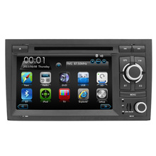800X480 HD Touch Screen Radio Player For AUD IA4 Car DVD Player With GPS Navigation Bluetooth Video Free map 1080P Can Bus Audio