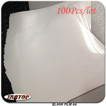 Inkjet-Printing Blank-Film Transfer Hydrographic Test-Water 100pcs/Lot Decorative-Material