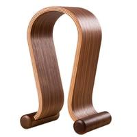 Samdi Walnut Wooded Headphones Gaming Headset Holder Display Stand Desk Hanger