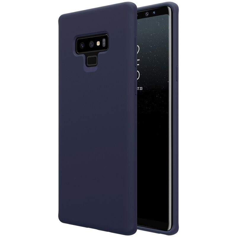 Flex Pure Case For Samsung Galaxy Note 9 Case Galaxy Note9 Soft Silicone Anti-Fingerpringt Back Cover Silicon Covers