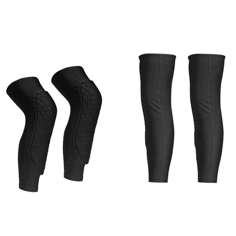 Sport Knee Protector Soft Knee Elbow Wrap Brace Support Pad Fitness Basketball QL Sale