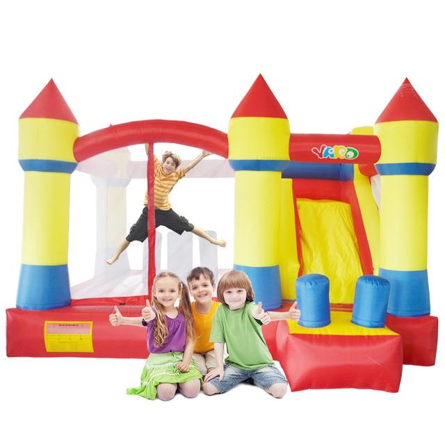 YARD Надувной замок Большой размер надувной батут слайд Прыжки Замок Отказов Дом надувные игрушки  матрас