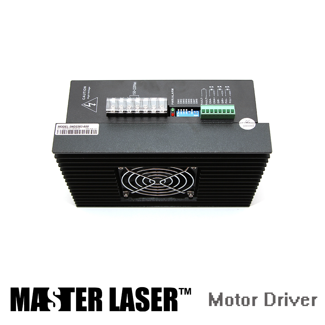 CO2 Laser Cutting Machine Step Motor Motion Control 3ND583 3 Phase Analog  Step Drive Motion Control cf15df356a294