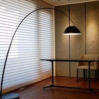 T Италия Дизайн Торшеры Гостиная Спальня зал офис диван Освещение Моды чернилами творческий свет большой