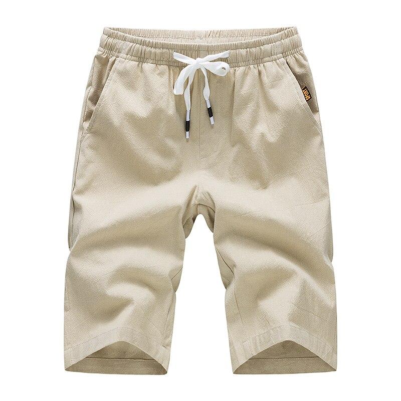 fbc412d1e7 Privathinker Brand White Cotton Linen Shorts Men Summer Shorts Male Bermuda  Casual Board Short Pants Man Big Size Harajuku 2018-in Casual Shorts from  Men's ...