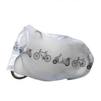 دراجة نارية دراجة بخارية المطر غطاء غبار للماء البوليستر سكوتر في الهواء الطلق حامي غطاء موتو دراجة جبلية اكسسوارات