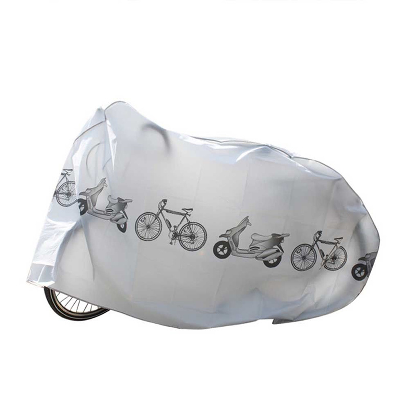 Motorbike Bike Motorcycle Rain Dust Cover Waterproof Polyester Scooter Outdoor Protector Cover Moto Mountain Bicycle Accessories