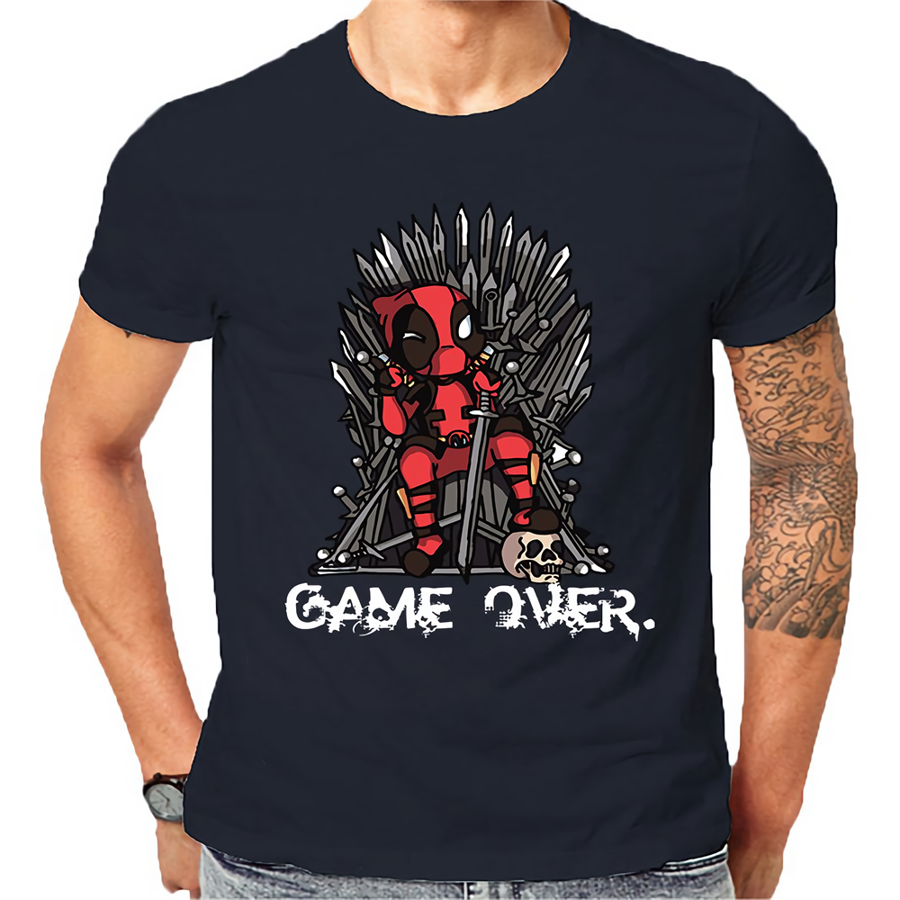 2019 Newest DeadPool Funny Super Hero Force Meets Game Of Thrones TV Show Cartoon Gamers Dragons Greatest fantasy TV Shows image
