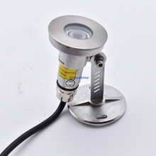 304 316stainless steel High Quality 1W Mini Underwater LED Light 12V IP68 Underwater Spot Light 24V Pond Lamp LED Pool Lamp 4pcs цена 2017